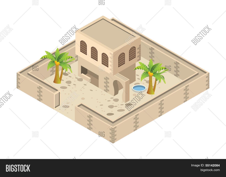 Isometric Arab House Vector Photo Free Trial Bigstock. Isometric Arab House Create A Lightbox. Wiring. A Diagram Of A House Arabic At Scoala.co