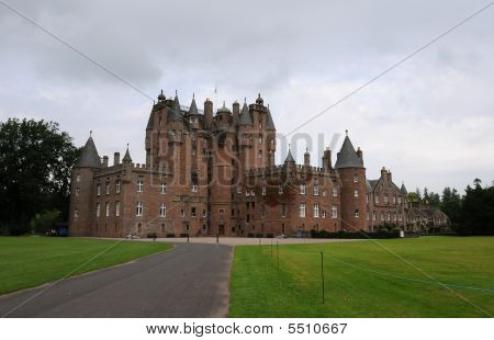 Glamis Castle Front Approach