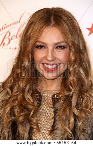LOS ANGELES - NOV 6:  Thalia at the Thalia and Make-A-Wish Celebrate National Believe Day Event at the Macy's on November 6, 2013 in Glendale, NV