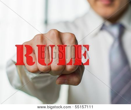 A Business Man Want To Break The Rule For N Ew Chance