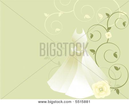 White Dress Background 2