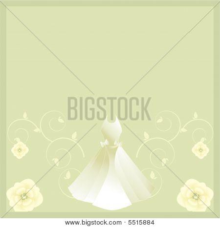 White Dress Background 1