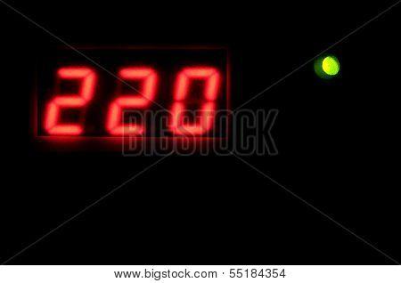 Digital Scales Display