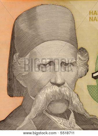 Vuc Stefanovic Karadzic On 10000 Dinara 1993 Banknote From Yugos