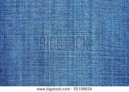 External Texture Of Shabby Jeans
