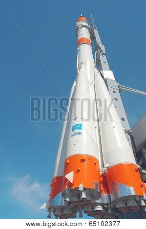 Soyuz Rocket In Samara City