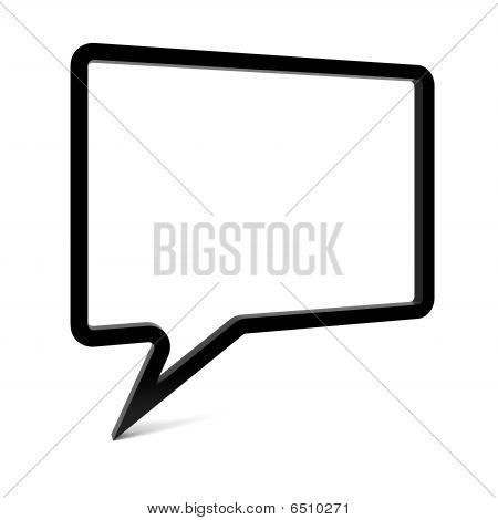 Empty Speech Bubble