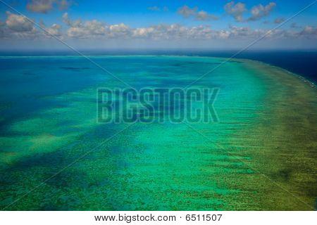 Arlington Reef Aerial View Great Barrier Reef