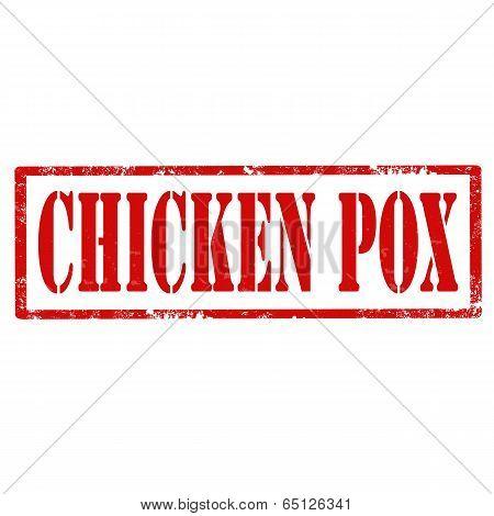 Chicken Pox-stamp