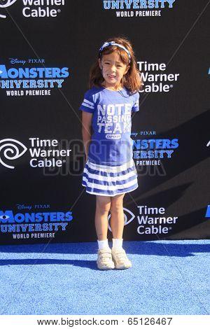 LOS ANGELES - JUN 17:  Aubrey Anderson Emmons at the