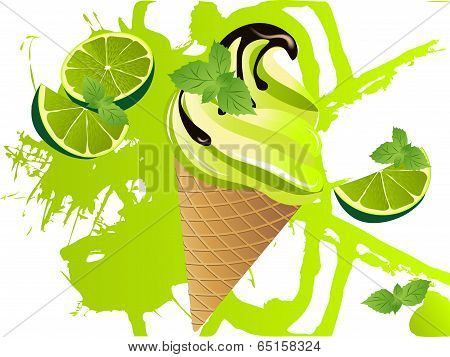 Mojito Ice Cream