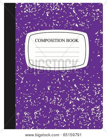 Purple Composition Book
