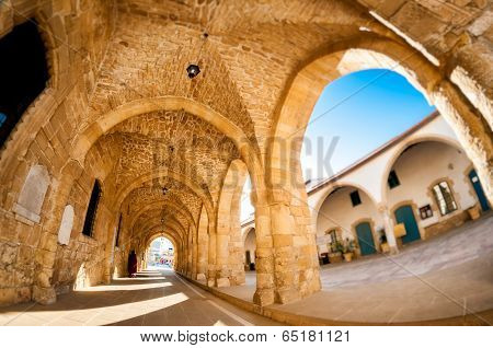 Arcs Of Ayious Lazarus Church, Larnaca, Cyprus