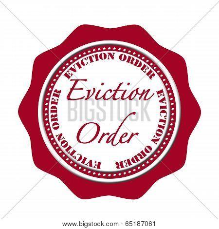 Eviction Oreder Stamp