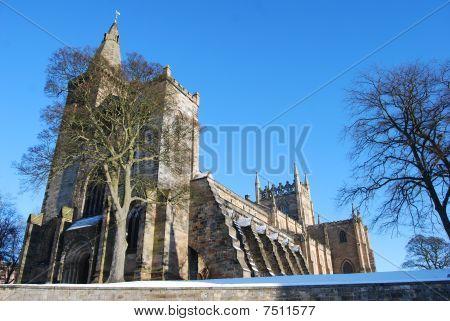 Abbey In winter
