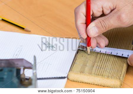 Carpenter Taking Steps