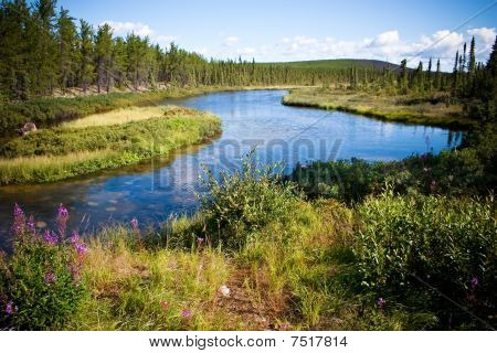 Northern Canadian River