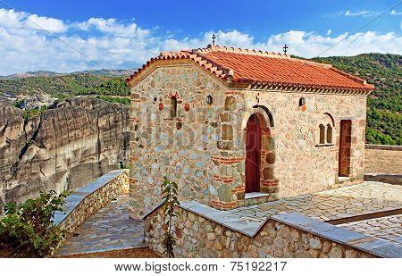 The Monastery Of The Holy Trinity (1475), Meteora, Greece