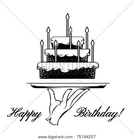 Happy Birthday card element