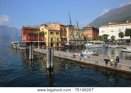 Malcesine Harbor