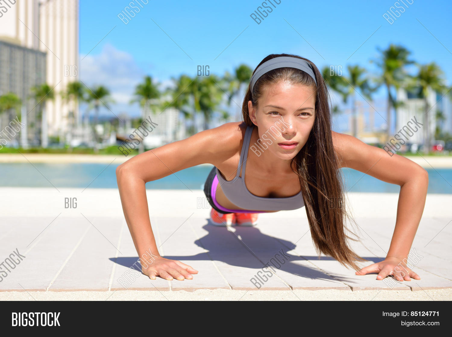 Push Ups Fitness Woman Image Photo Free Trial Bigstock First, let's clear up a popular misconception. push ups fitness woman image photo