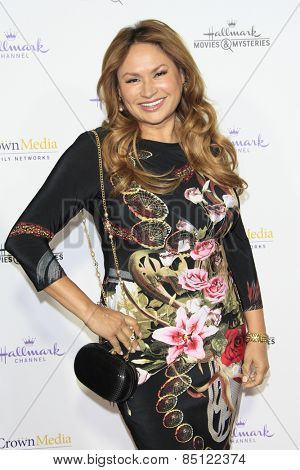 LOS ANGELES - JAN 8: Shirley Bovshow at the TCA Winter 2015 Event For Hallmark Channel and Hallmark Movies & Mysteries at Tournament House on January 8, 2015 in Pasadena, CA