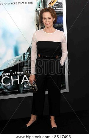 NEW YORK-MAR 4: Actress Sigourney Weaver attends the premiere of