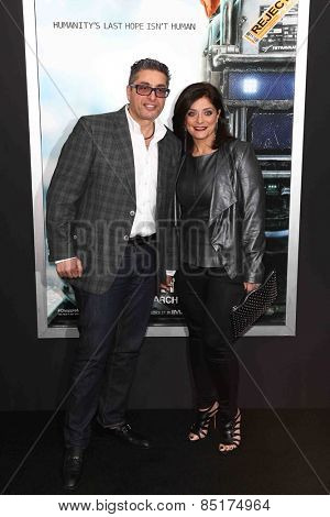 NEW YORK-MAR 4: Richard Wakile (L) and Kathy Wakile attend the premiere of