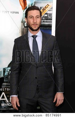 NEW YORK-MAR 4: Actor Pablo Schreiber attends the premiere of