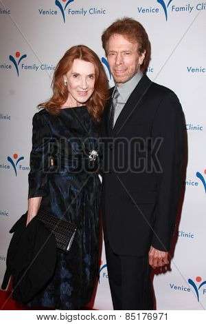 LOS ANGELES - MAR 9:  Linda Bruckheimer, Jerry Bruckheimer at the 2015 Silver Circle Gala at the Beverly Wilshire Hotel on March 9, 2015 in Beverly Hills, CA