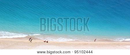 Beach - Aerial View