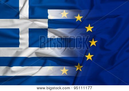 Greek And European Union As Symbol Of Crysis