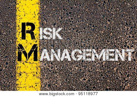 Business Acronym Rm As Risk Management