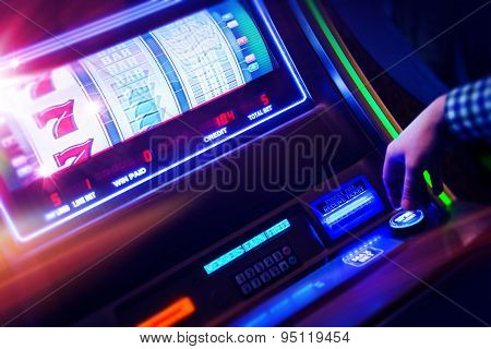 Casino Slot Machine Player