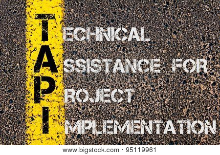 Business Acronym Tapi As Technical Assistance For Project Implementation