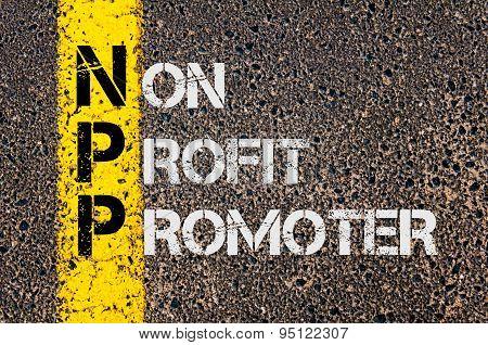 Business Acronym Npp As Non Profit Promoter