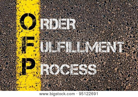 Business Acronym Ofp As Order Fulfillment Process