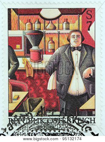 The Waiter Stamp
