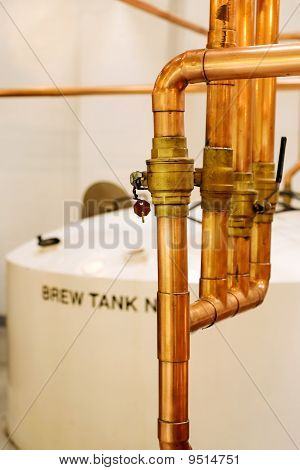 Distillery interior