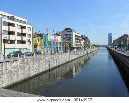 Canal View, Brussels, Belgium