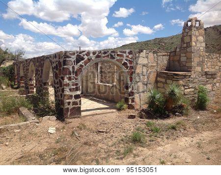 Old desert building