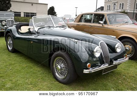 British Soft Top Classic Car