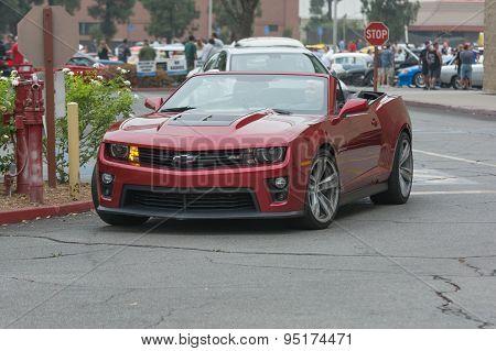 Chevrolet Camaro Zl1 Car On Display