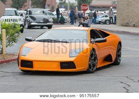 Lamborghini Murcielago Car On Display