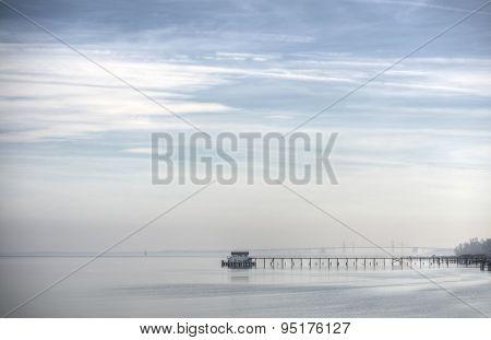 Misty Days On The Chesapeake Bay