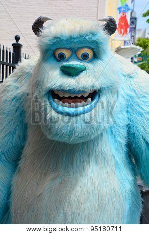 Bigfoot puppet