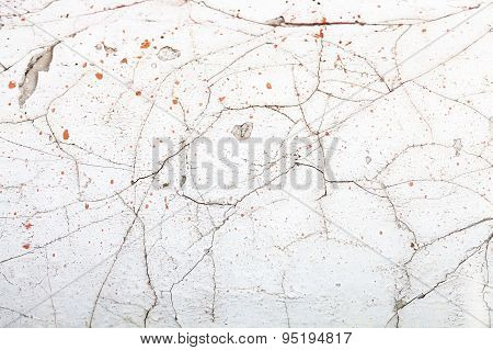 Vintage White Wall Background