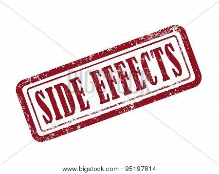 Stamp Side Effects In Red