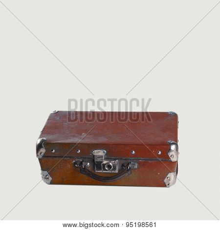 Vintage Brown Suitcase