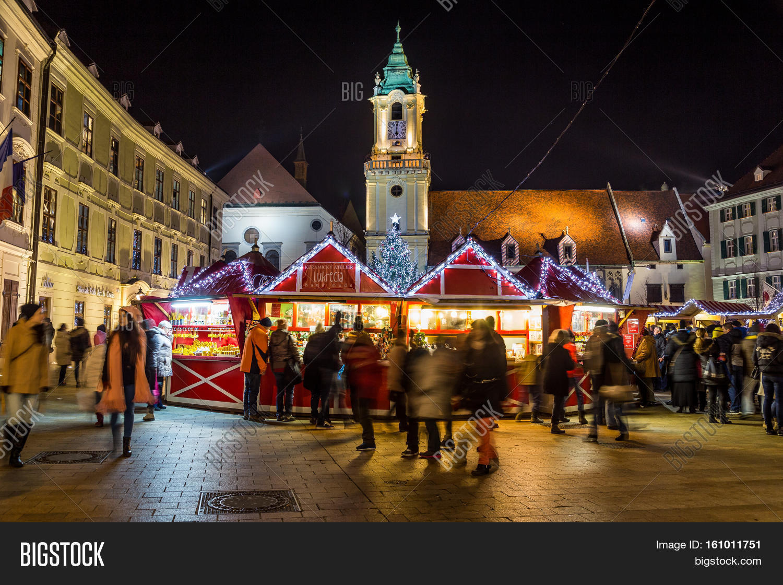 Christmas Bratislava.Bratislava Slovakia Image Photo Free Trial Bigstock